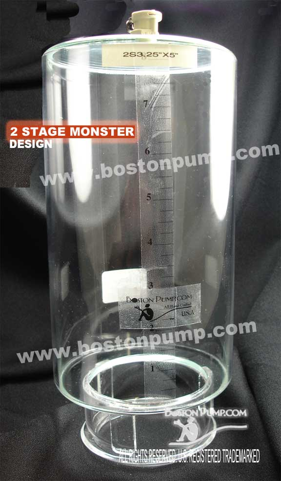 2 Stage monster cylinder by bostonpump.com