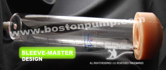bostonpump Sleeve-Master design penis pump cylinder
