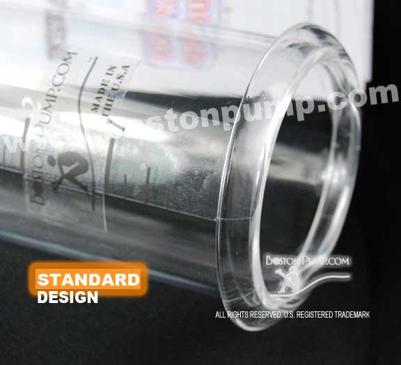 boston pump penis enlarger cylinder close-up