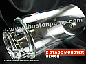 "PRO.SERIES 2-STAGE MONSTER CYLINDER SIZE  3.75""x6"""